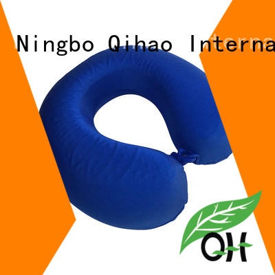 Qihao gel travel pillow factory price for business trip