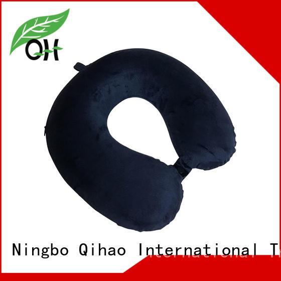 OEM UFO Memory foam travel pillow, velvet or lycra cover, MF-3133 UFO Ningbo Qihao