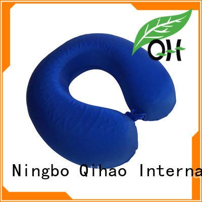 Qihao Wholesale gel memory foam pillow suppliers for business trip