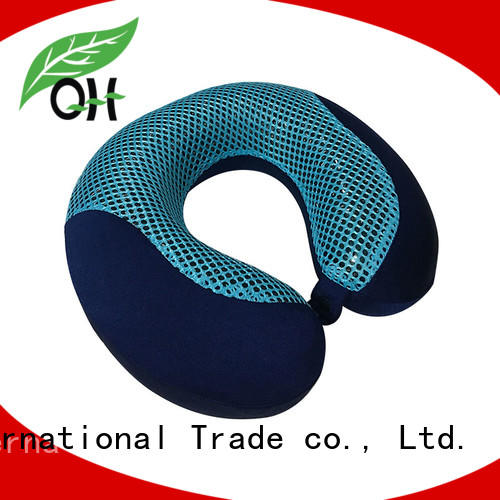 Qihao memory neck pillow with cooling gel supply for a rest