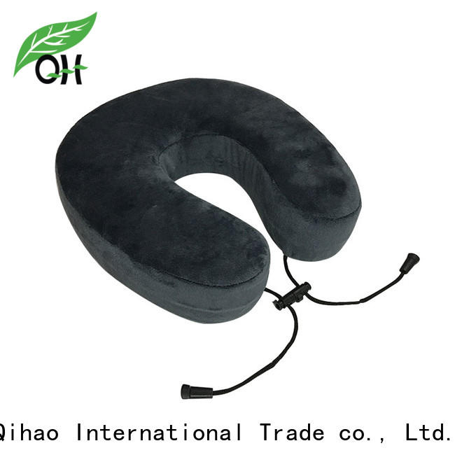 Qihao feel u shaped neck pillow supply for sleeping