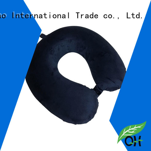 Cool touch memory foam neck pillow travel or design for sleeping