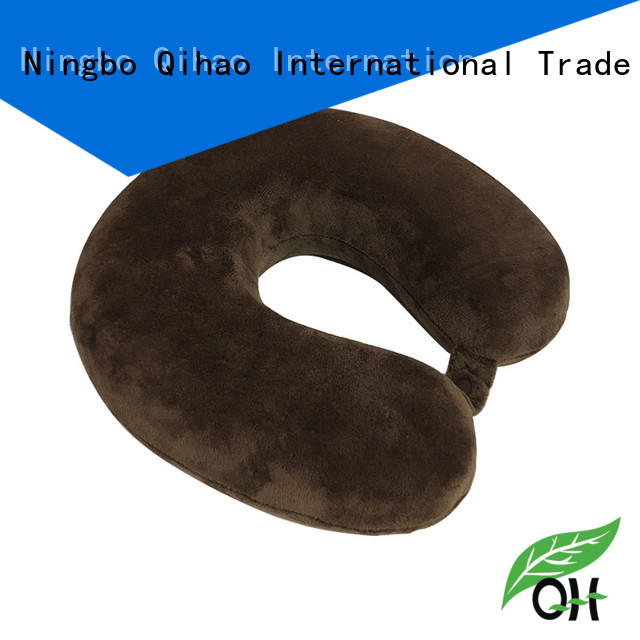 Qihao Best best neck pillow for flying suppliers for travel