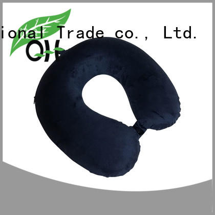 Qihao Latest u shaped neck pillow for business for travel