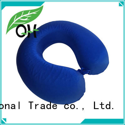 Qihao neck memory foam pillow for business for business trip
