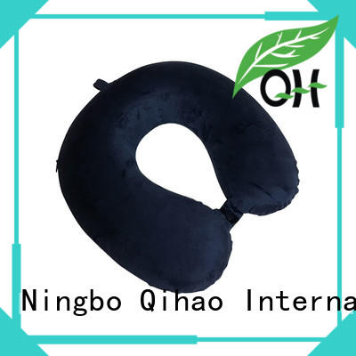 Qihao luxury travel neck pillow for business for a rest
