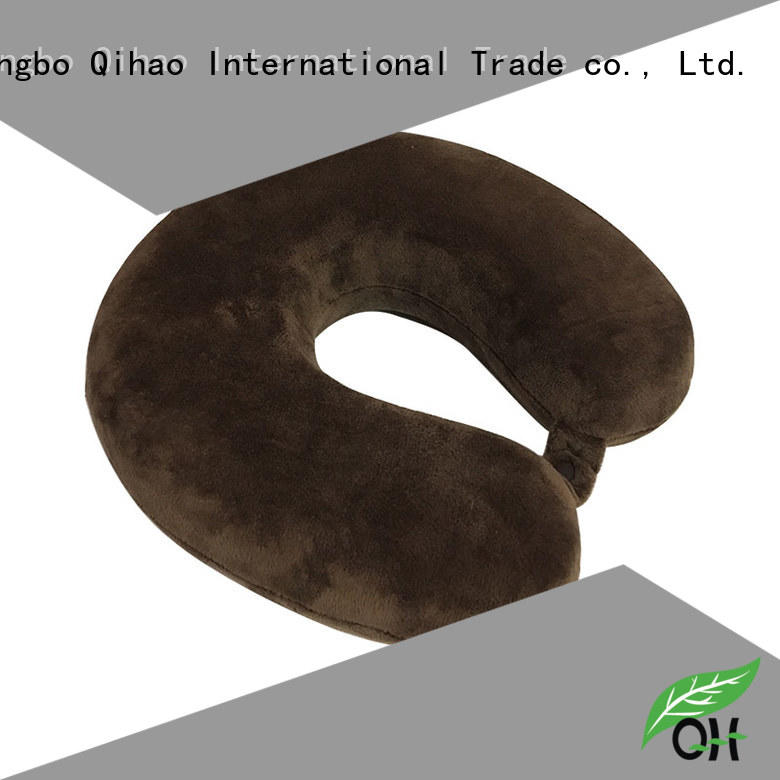 Qihao oem travel pillows for airplanes manufacturers for business trip