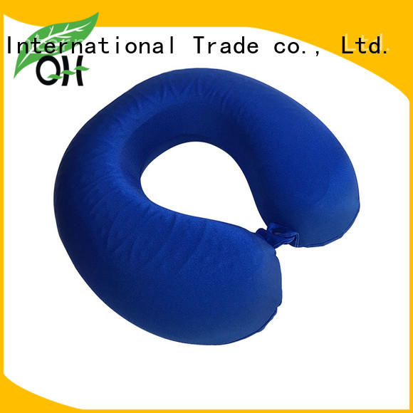 Qihao best cool gel memory foam pillow buy now for business trip