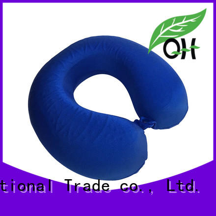 hot-sale cooling travel neck pillow cool bulk production for a rest