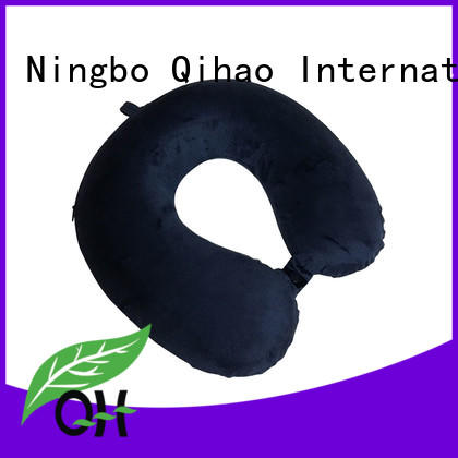 Luxury travel neck pillow lycra supply for a rest
