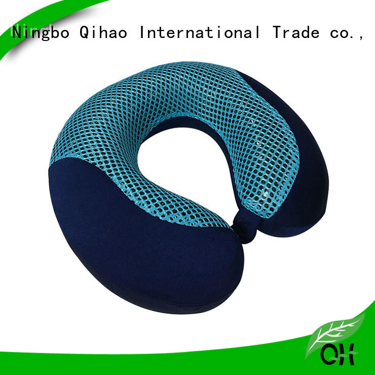 Qihao High-quality gel infused memory foam pillow for business for a rest