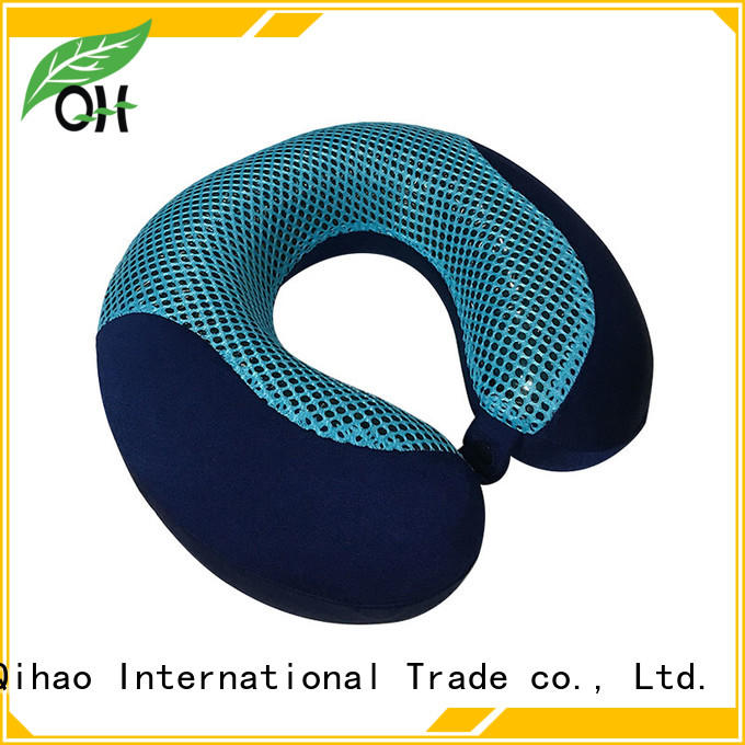 Qihao environmental gel infused memory foam pillow factory for sleeping