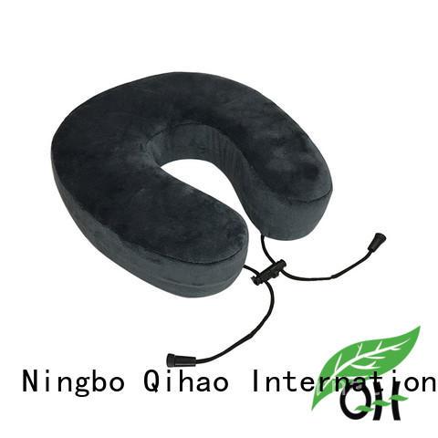 Qihao lycra flight neck pillow company for office