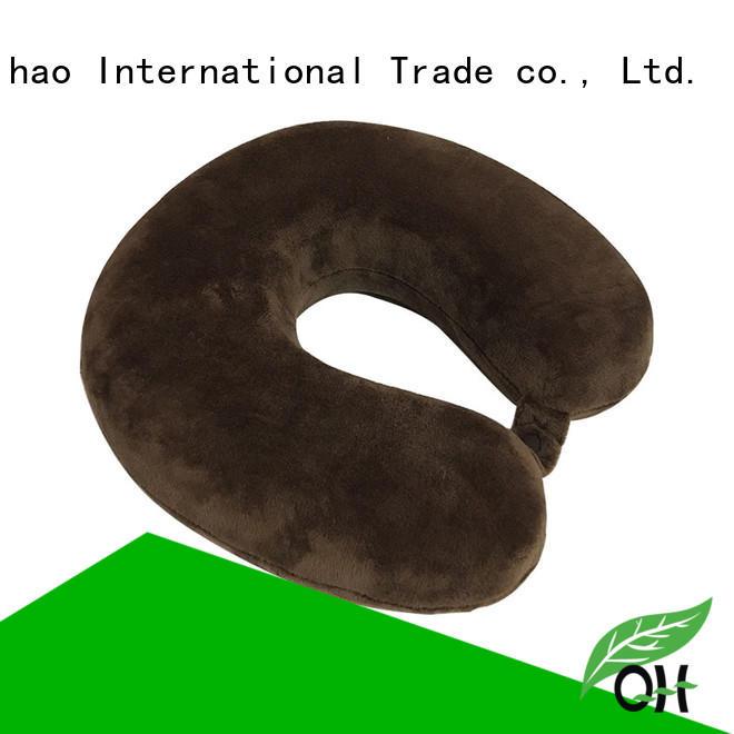 portable memory foam pillow online Qihao