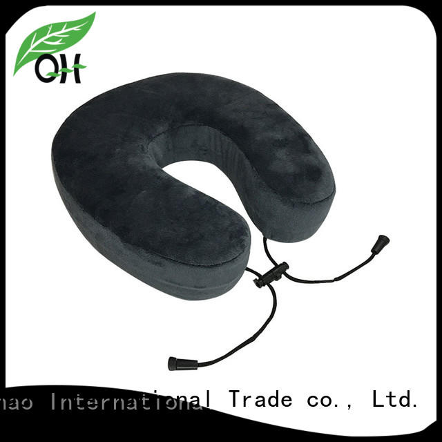 Qihao velvet contour neck pillow company for office