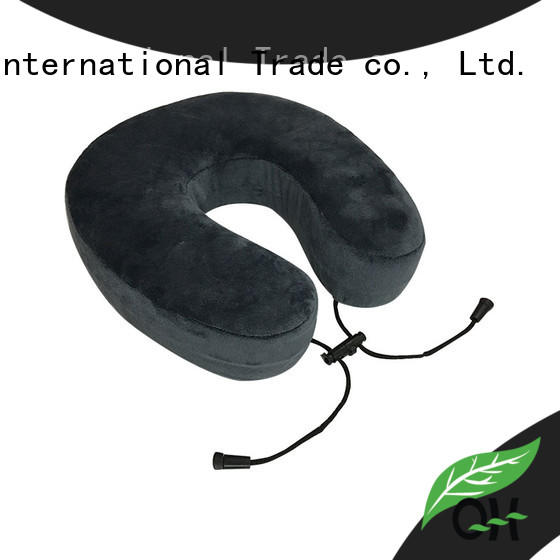 Qihao New memory foam travel pillow factory for office