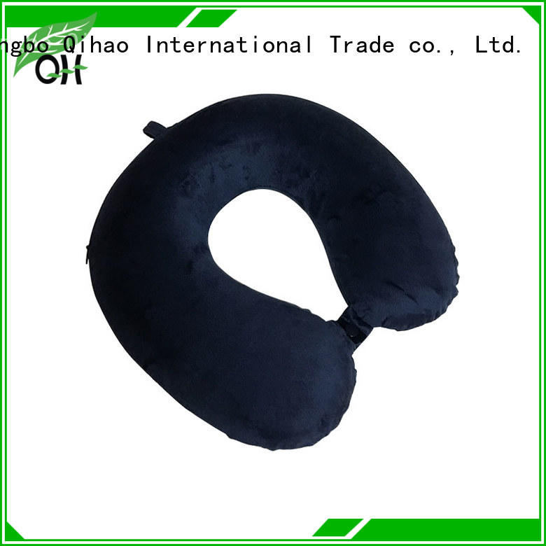 Qihao environmental travel pillows for airplanes manufacturers for business trip