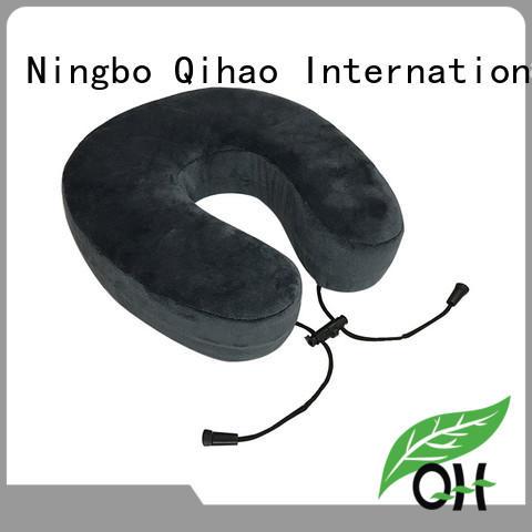 Qihao foam memory foam support pillow for business trip