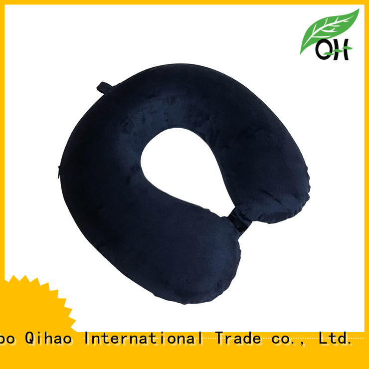 Qihao Cool touch best neck pillow for flying for travel