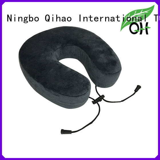 memory memory foam travel pillow for business trip Qihao