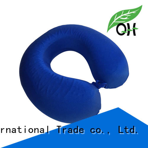 Qihao quality cooling gel and memory foam pillow free design for office