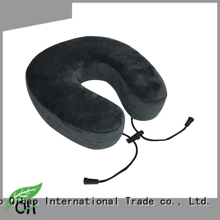 ufo flight neck pillow snap for travel Qihao