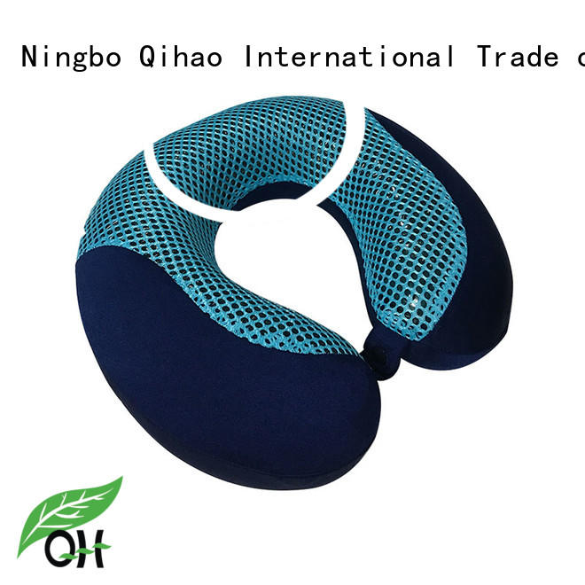 bamboo gel and memory foam pillow oem for sleeping Qihao