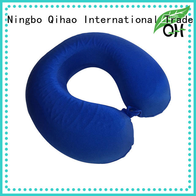 Super-soft memory foam pillow with cooling gel neck from manufacturer for business trip