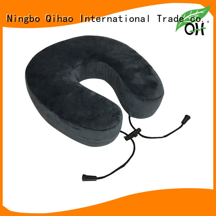 Luxury u shaped neck pillow foam supply for travel