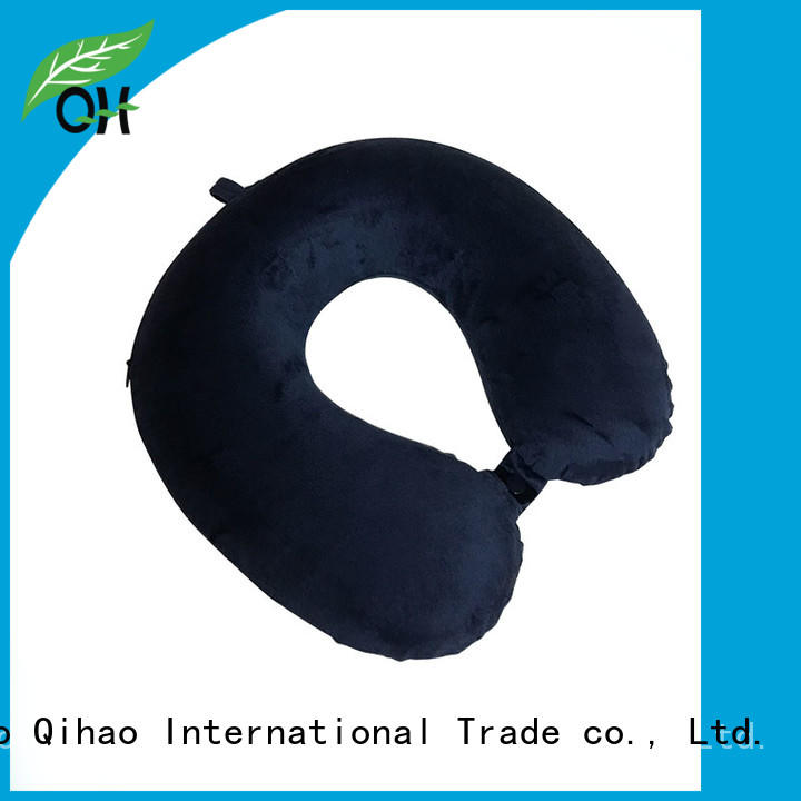Qihao cover best travel neck pillow manufacturers for a rest
