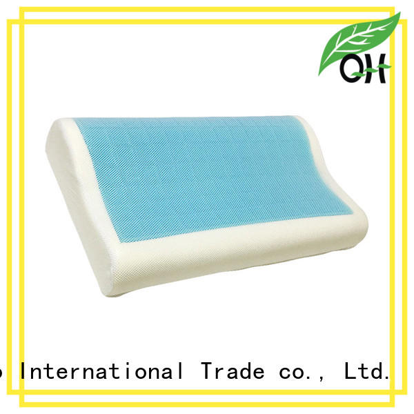 Qihao touch contour pillow factory for a rest