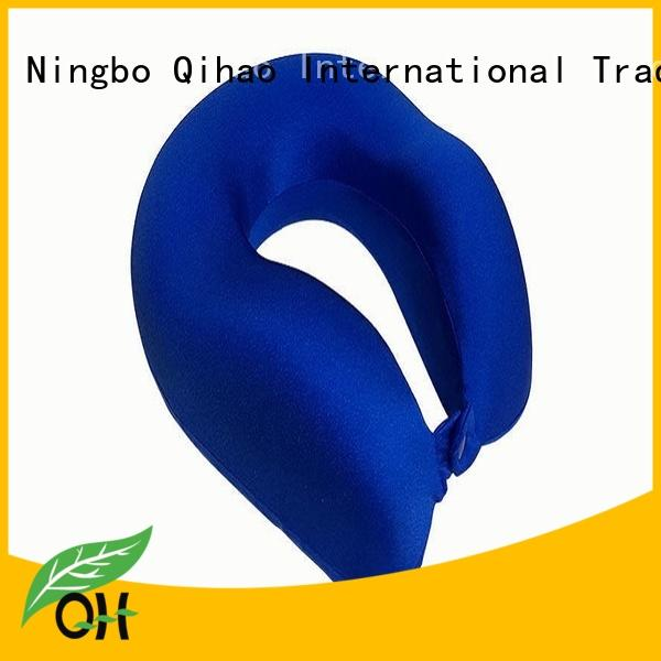 Qihao mf2928 contour neck pillow supply for business trip