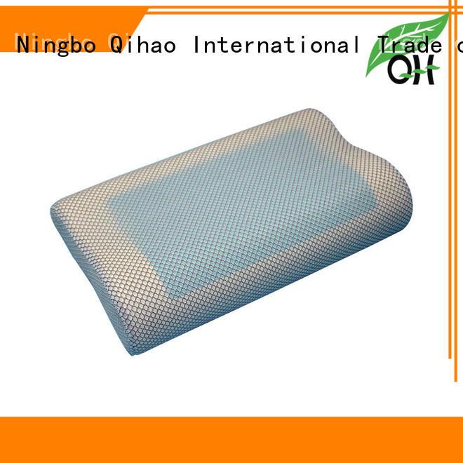 Custom contour gel pillow mesh supply for business trip