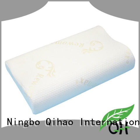 Qihao contour sleeping pillow factory for student