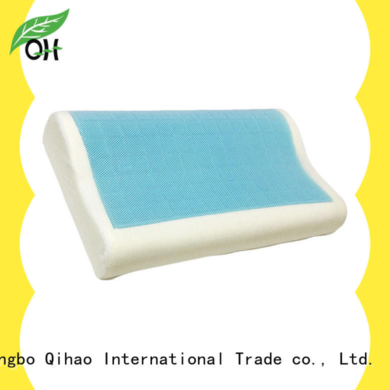 Cool touch contour pillow layer supplier for business trip