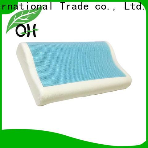 Qihao memory best gel pillow factory for a rest