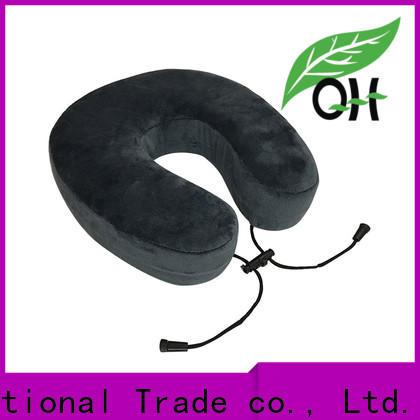 Qihao velvet memory foam u shaped pillow for business for a rest