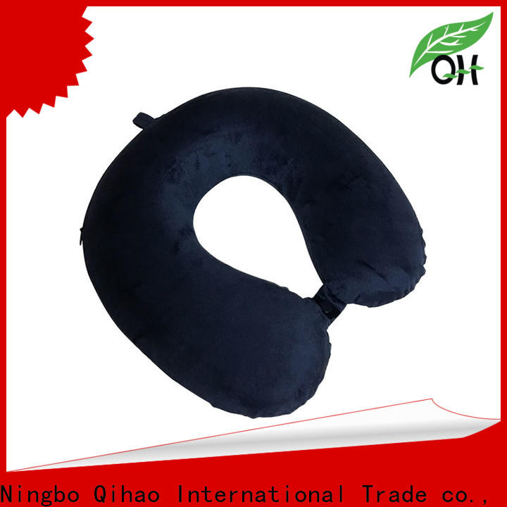 Qihao cover world's best memory foam travel pillow suppliers for a rest