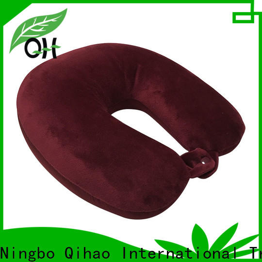 Qihao High-quality travel size memory foam pillow manufacturers for student