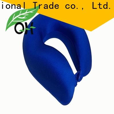 High-quality world's best memory foam travel pillow mf2928 for business for business trip
