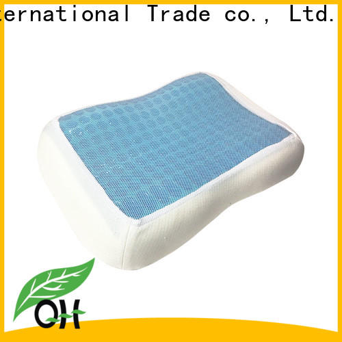 Top contour pillow layer factory for travel