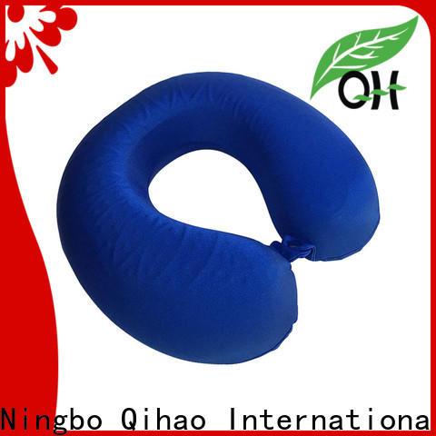 Qihao velvet memory foam pillow company for travel