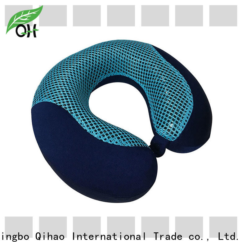 Qihao pillow neck pillow with cooling gel supply for a rest