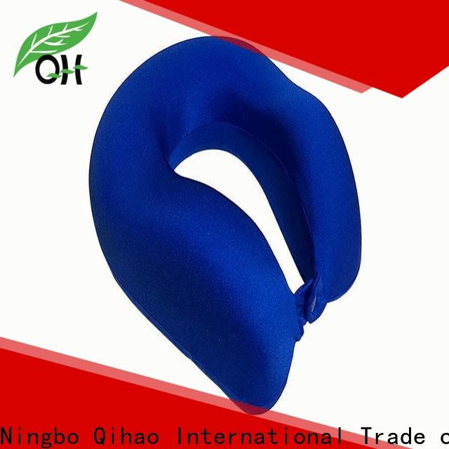 Qihao luxury flight neck pillow company for travel