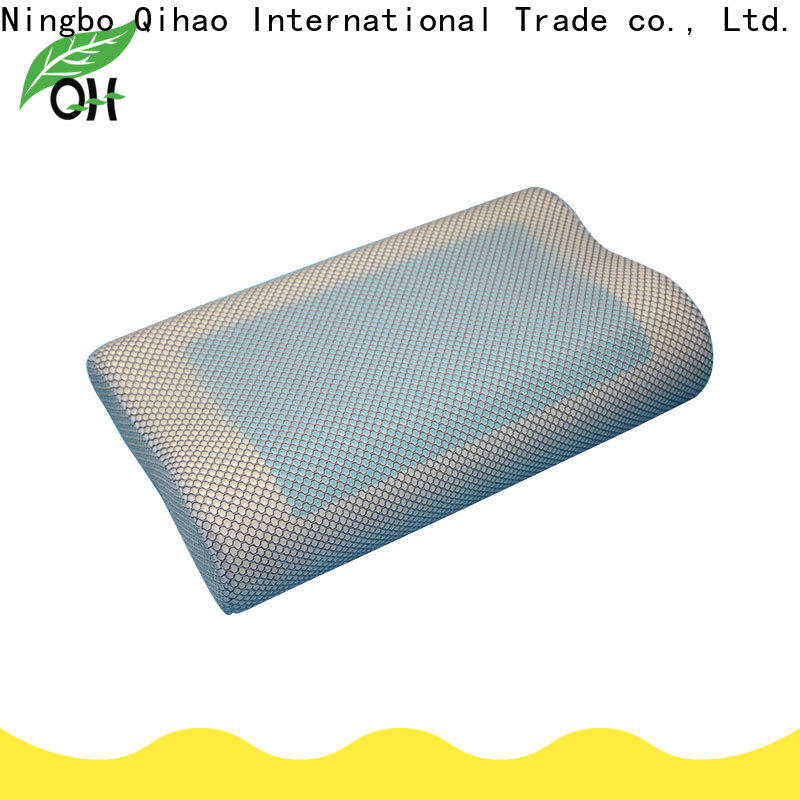Qihao mesh gel contour pillow suppliers for office
