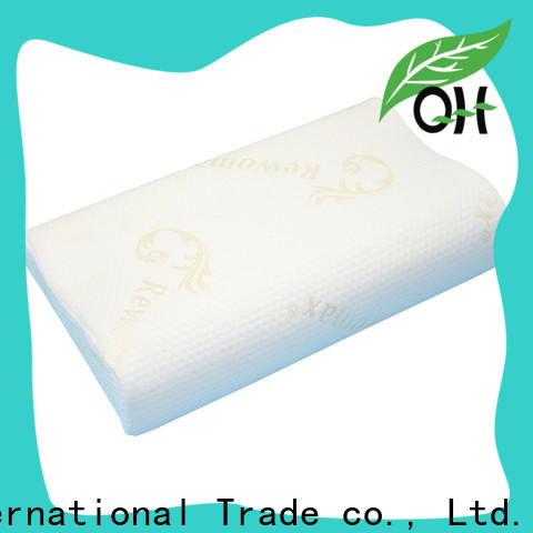 Qihao cover king size memory foam pillow for business for businessmen