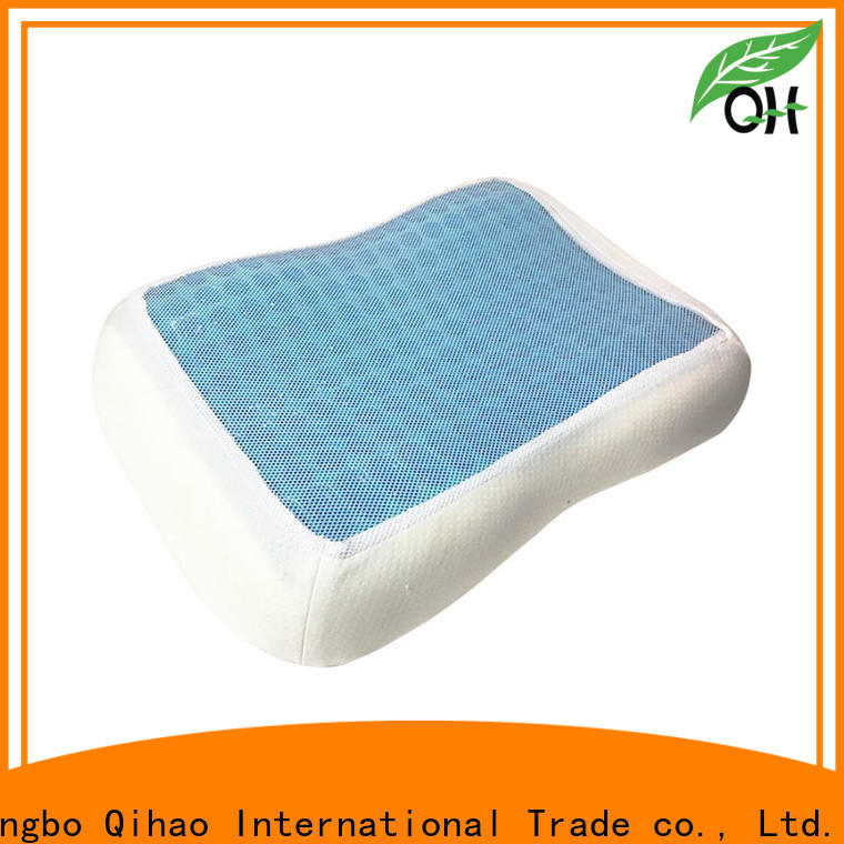Qihao cool gel contour pillow for business for business trip