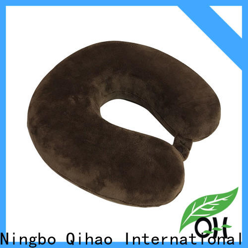 Qihao pillow memory foam travel neck pillow for business for office