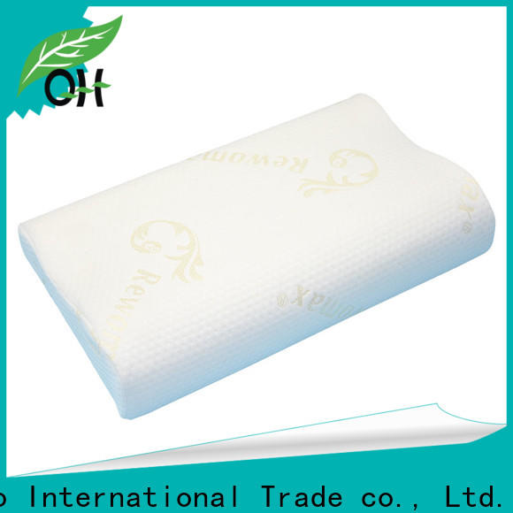 Qihao High-quality silentnight memory foam pillow suppliers for a rest