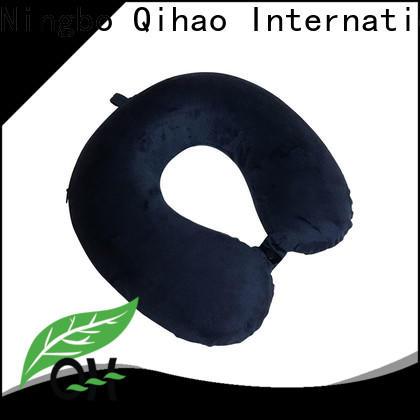 Qihao oem flight neck pillow manufacturers for a rest